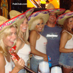 Cinco de Mayo hot girls The PubClubettes