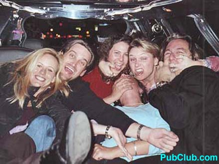 Los Angeles limo party group