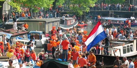 Queens Day Amsterdam