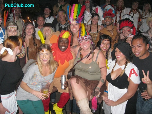Thanksgiving Eve Themed Pub Crawl In Hermosa Beach