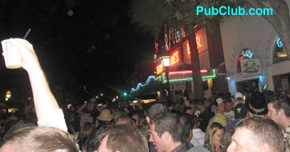 Kew West New Year's Eve NYE party Duval Street