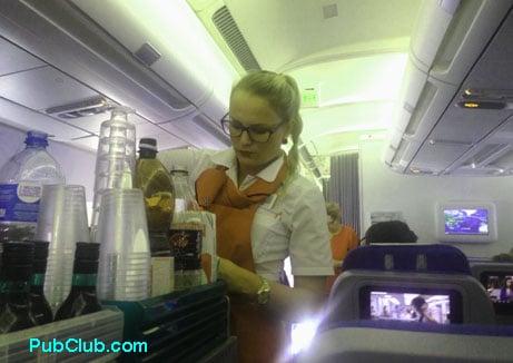 Edelweiss Air Switzerland flight attendant service