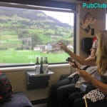 Travel Blogger Daily Blog: Traveling By Train In Switzerland Is A Real Thrill