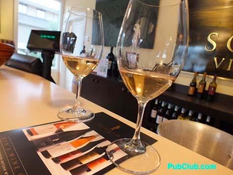 Carmel Wine Walk Sheid tasting room