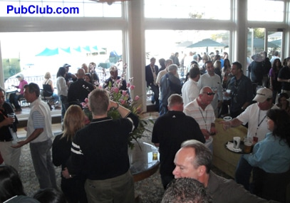 Pebble Beach Pro-Am clubhouse party