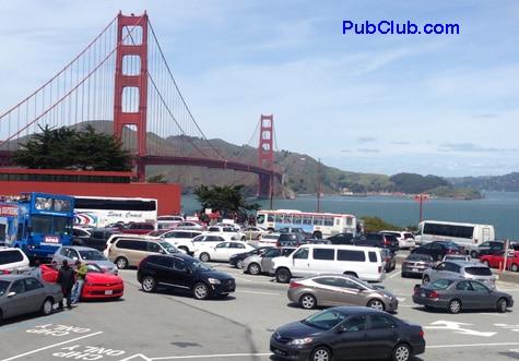 Golden Gate Bridge from SF side