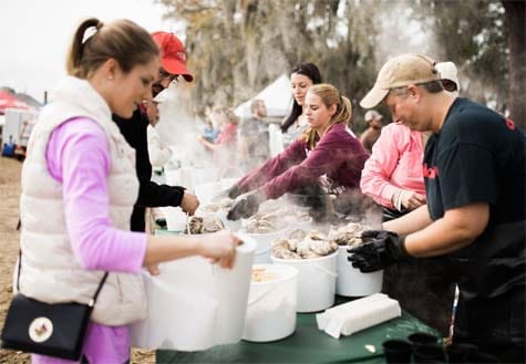 Lowcountry Oyster Festival Charleston, S.C.
