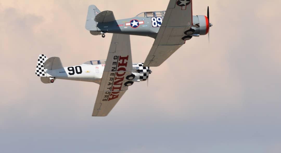 Reno Air Races vintage planes