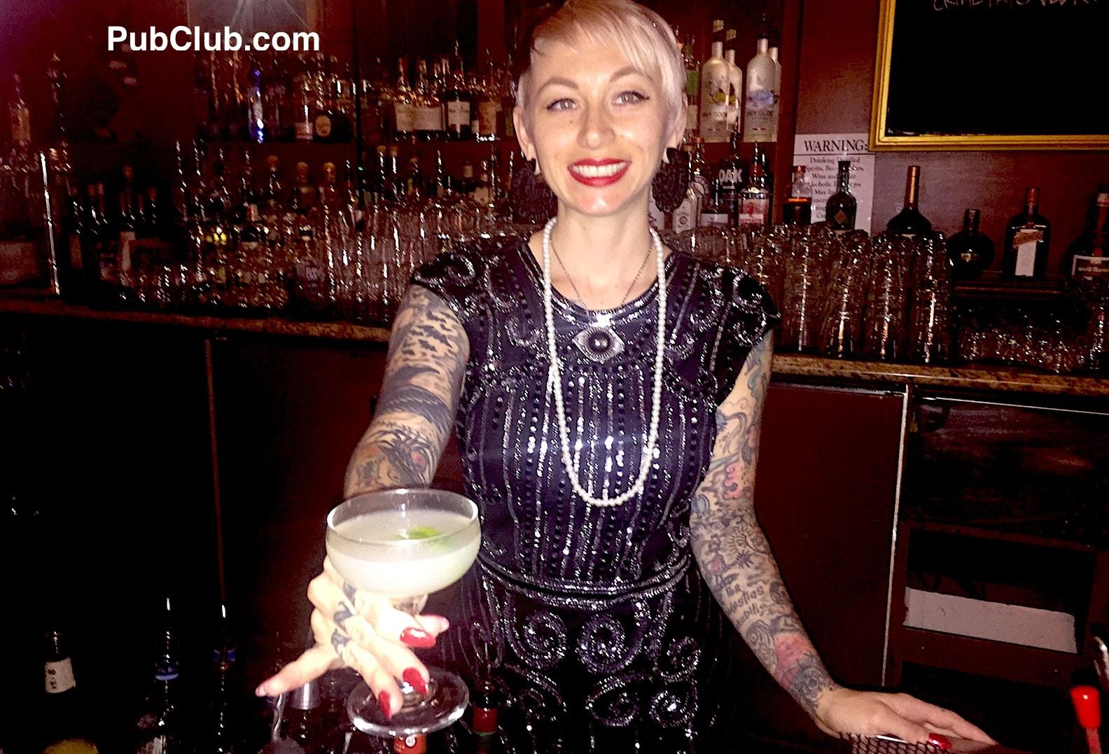 The Federal Bar Long Beach CA cocktail