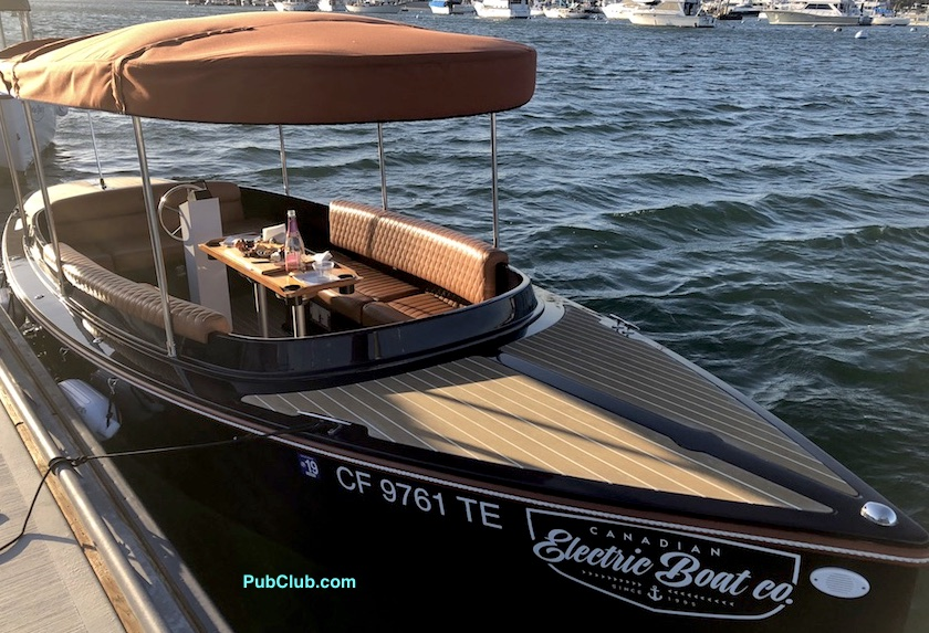 Newport Beach Duffy Style Electric Boat Rentals Pricing