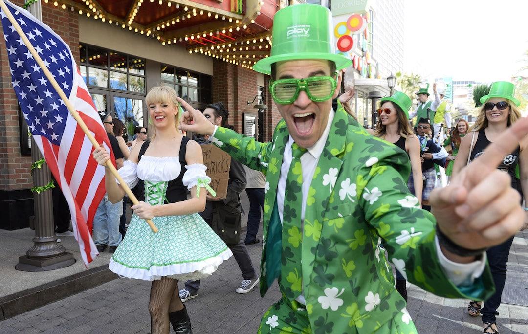 Las Vegas St. Patrick's Day O'Sheas BLOQ Party