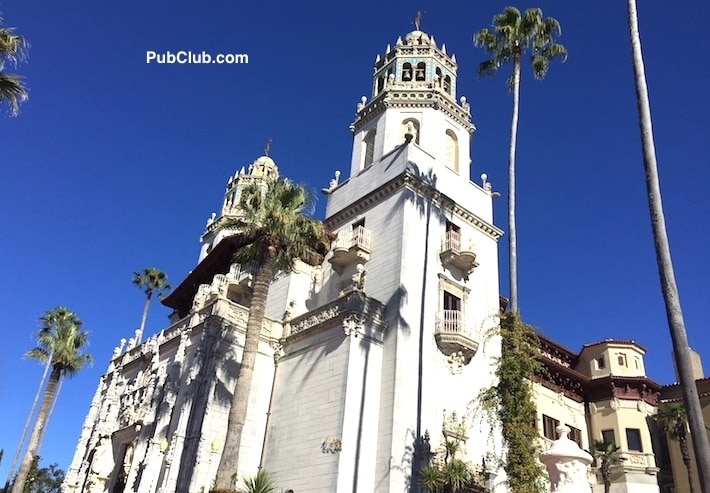 Hearst Castle CA Highway 1 majestic view