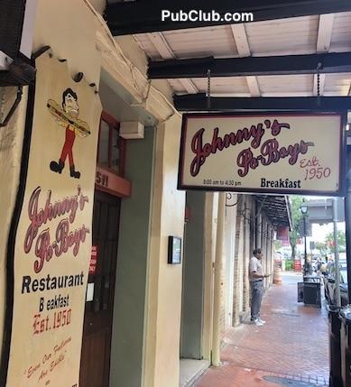 Johnny's Po-Boy New Orleans