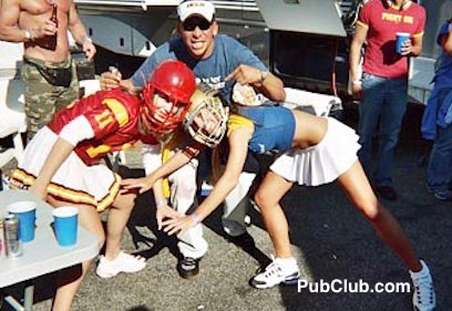USC-UCLA tailgate party