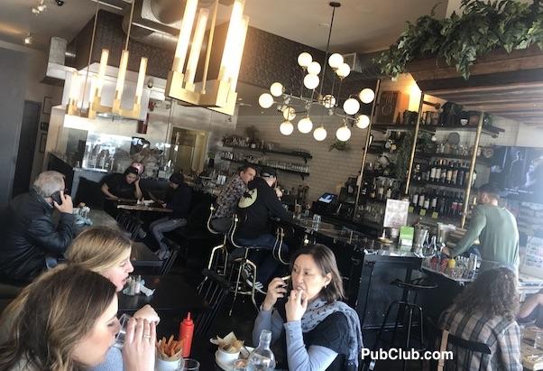 The New Deal Burbank CA farm to table restaurant