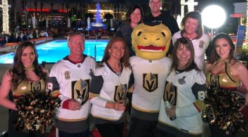 Las Vegas Knights hockey fans