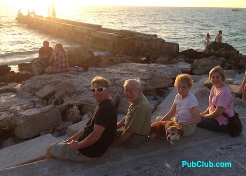 Siesta Key Florida sunset