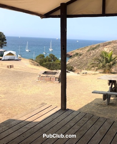 Two Harbors Catalina Island campground