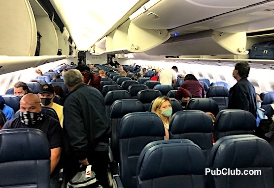 Delta Air Lines passengers COVID travel