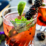 rum cocktail Blackberry Dark & Stormy