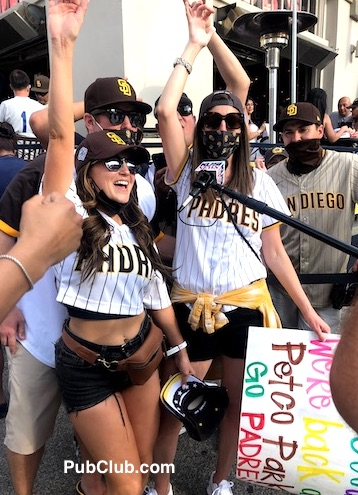 San Diego Padres Opening Day fans Bubs Ballpark