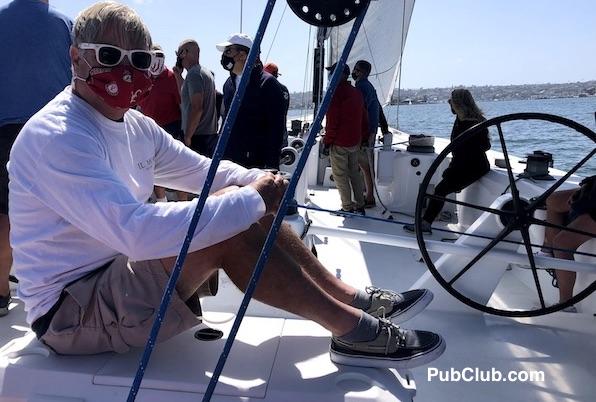 PubClub.com lifestyle blogger sailing mask